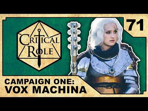 Vorugal | Critical Role RPG Show Episode 71 (видео)
