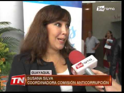Alcaldía de Guayaquil, realizó foro sobre corrupción y democracia