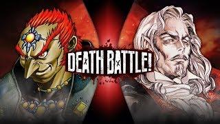 Ganondorf VS Dracula (Zelda VS Castlevania) | DEATH BATTLE! by ScrewAttack