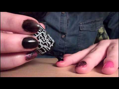 comment appliquer le vernis a ongle craquelé