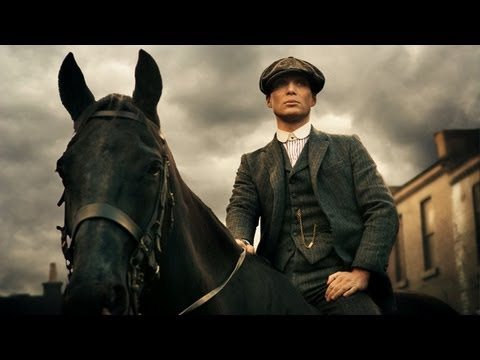 television series - Cillian Murphy on new television series Peaky Blinders Subscribe to the Guardian HERE: http://bitly.com/UvkFpD Cillian Murphy, star of new BBC period drama P...
