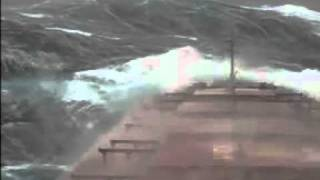 Video Bulk carrier in rough sea, Pacific Ocean MP3, 3GP, MP4, WEBM, AVI, FLV Mei 2018
