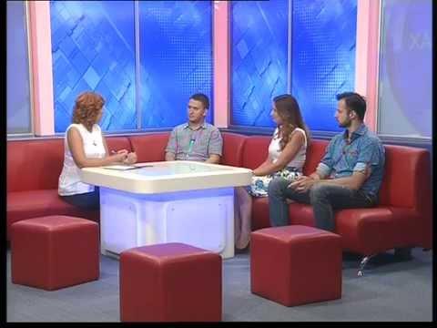 Прямой эфир на телеканале ОТБ. Проекте «Звездное лето»