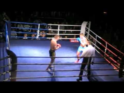 D M ProAm Muaythai -79 kg B.Bunge vs.R.Lemke Major Gym Muaythai Gym Rostock.Sieg Rene