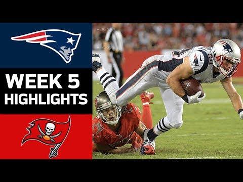 Patriots vs. Buccaneers | NFL Week 5 Game Highlights - Thời lượng: 9:14.