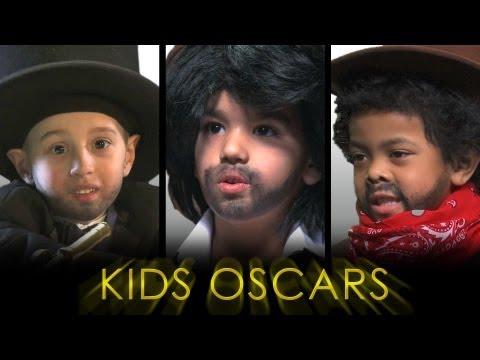 Cute Alert:  Kids Re-enact Oscar Films