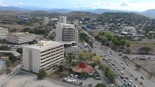 Changing city of Port Moresby, Papua New Guinea.