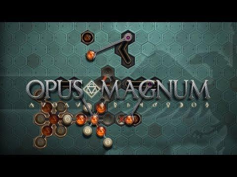 OPUS MAGNUM Amazing Alchemist Game - Let's Look / Gameplay