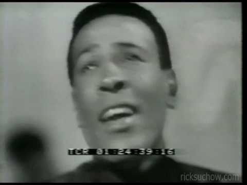 ricksuchow - An extremely rare live clip of Marvin Gaye singing