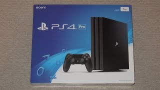 Playstation 4 Pro Unboxing And Review
