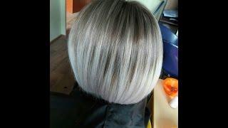цвет волос для прически каре
