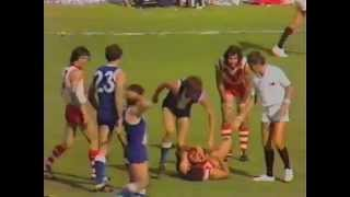 East Fremantle Australia  city pictures gallery : WAFL 1979 Grand Final South Fremantle v East Fremantle 1st half