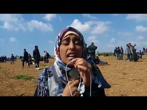 متابعة لمسيرة العودة الكبرى في غزة