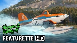 Planes: Fire&Rescue (2014) Featurette - How To Draw Dusty
