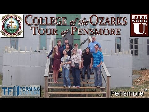 College of the Ozarks Tour of Pensmore  09-18-2014