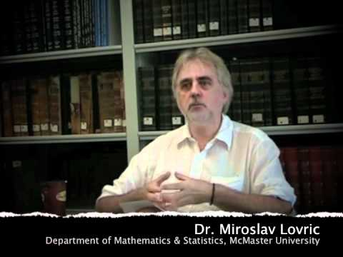 mcmaster University Math - Dr. Miroslav Lovric (Department of Mathematics & Statistics, McMaster University), describes some of his strategies for teaching effectively. Part of a serie...