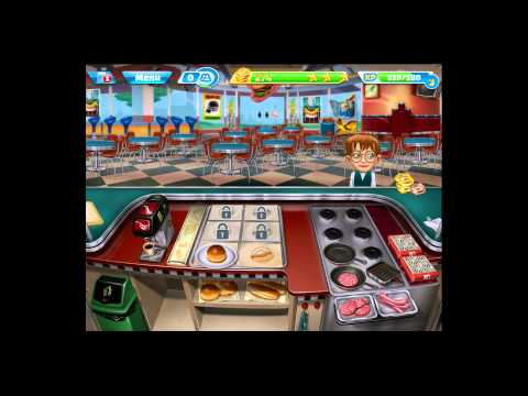 Cooking Fever [iPad Gameplay] Levels 7-8