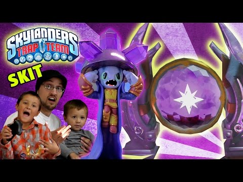 1st - A Magic Gate Magically Opens in Chompy Mountain! Deja Vu and Fizzy Frenzy Pop Fizz need no help from a Trap Master to open this Traptanium gate! The Unknown Mystery of Skylanders Trap Team!