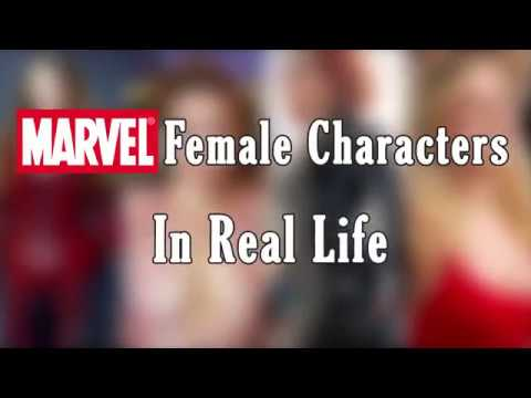 Marvel Female Characters In Real Life [HOTTEST]