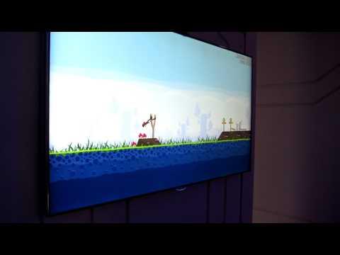 Samsung ES9000 Smart TV and Angry Birds - 003 - Geek.com