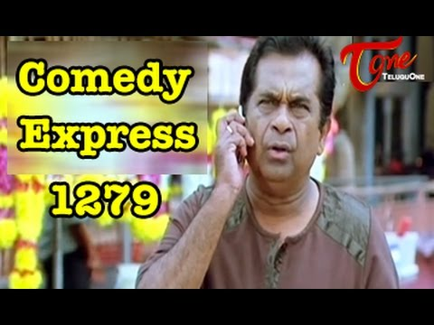 Comedy Express 1279 || Back to Back || Telugu Comedy Scenes
