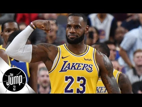 LeBron James 'doesn't get a lot of the calls he deserves' - Scottie Pippen l The Jump