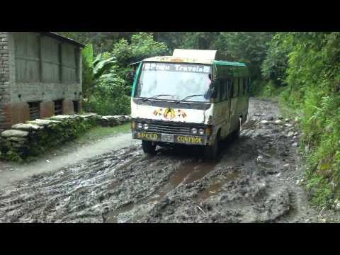 Nepal Mustang Trek - Part 9 - from Jomsom to Kathmandu