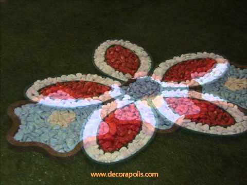 Jardines decorados con piedras de rio videos videos for Jardines decorados con piedras de rio