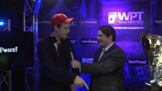 Season XI WPT Copenhagen Champion : Emil Olsson