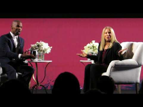 Barbra Streisand with Jamie Foxx: Fame and Groceries