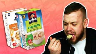 Irish People Try American Oatmeal