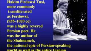 Ferdowsi's Shahnameh  Part II  010610.wmv