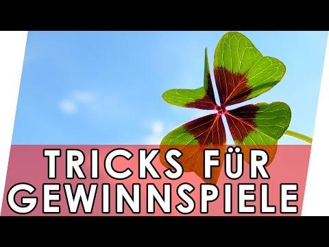 Tricks für Gewinnspiele | Geniale Fakten, Tipps & Tri ...