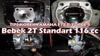 Video TIPS KOREK YAMAHA F1Z-R/FORCE-1 DRAGBIKE BEBEK STANDART 116cc  RAT Motorsport MP3, 3GP, MP4, WEBM, AVI, FLV Mei 2017