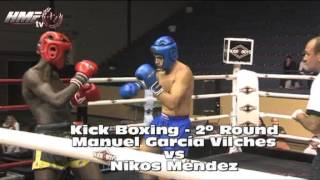 Vilches Spain  City new picture : HMF11. Combate de Kick Boxing. Manuel garcía Vilches vs Nikos Méndes