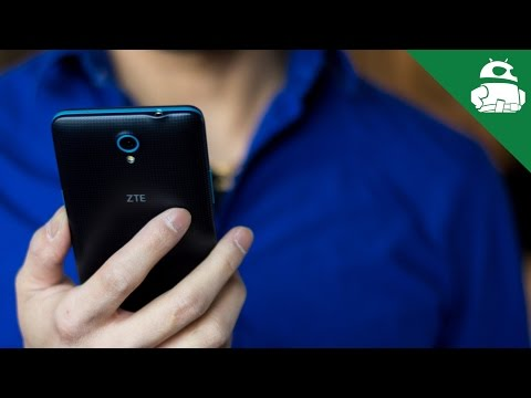 ZTE Avid Plus hands-on