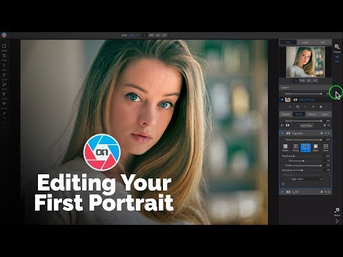 Editing Your First Portrait inON1 Photo RAW 2019