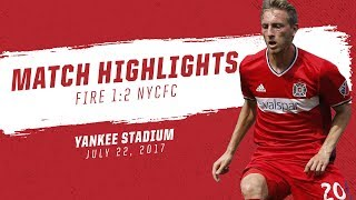 The Chicago Fire lost for the first time since April 29, falling to fellow Eastern Conference contender New York City FC, 2-1, on...