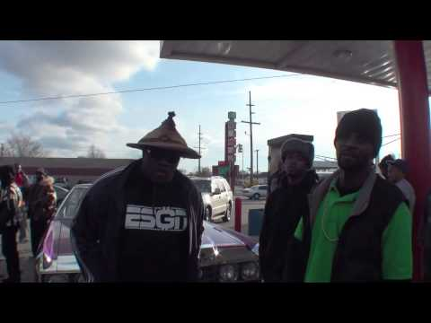 Gary Indiana - Freddie Gibbs video shoot in Gary, Indiana (BEHIND THE SCENE) STREETKREDDVD.COM.