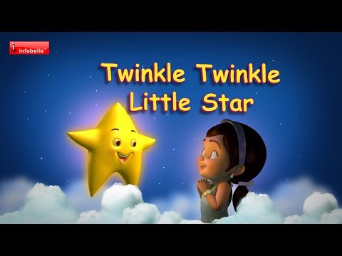 Twinkle Twinkle Little Star - Nursery Rhymes With Lyrics