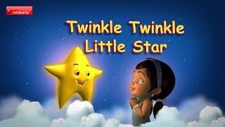 Twinkle Twinkle Little Star - Nursery Rhymes with lyrics Video