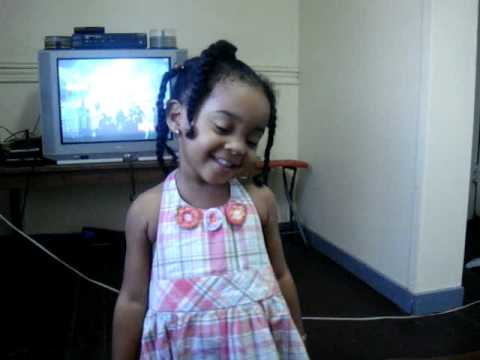 Little Girl sings Jamaican National Anthem