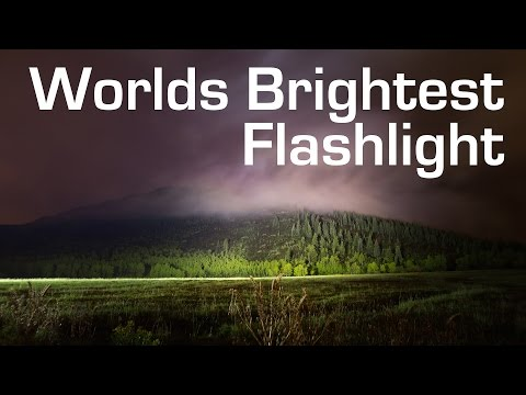 1000W LED Flashlight Worlds Brightest 90 000