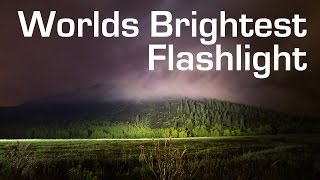 Worlds Brightest 1000W LED Flashlight – (90,000 Lumens)