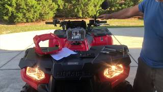 6. 2018 Polaris Sportsman 570 Headlight Mod.