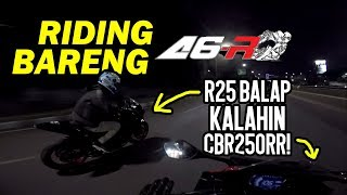 Download Video Riding Bareng A6Riders - CBR250RR DIASEPIN R25 BALAP!! MP3 3GP MP4