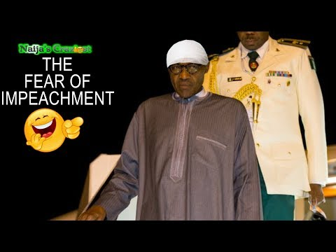 Buhari Sneaks Into Nigeria At Night After 90 Days To Avoid Impeachment-Hilarious