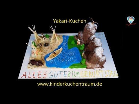 Yakari - Kuchen / Indianerkuchen / Yakari Cake