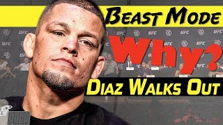Video Nate Diaz Punks UFC & Dana White at Press Conference [Like a Boss!] MP3, 3GP, MP4, WEBM, AVI, FLV Juni 2019