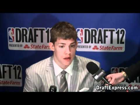 Meyers Leonard 2012 NBA Draft Media Day - DraftExpress
